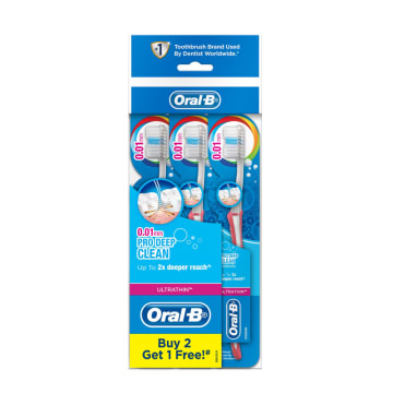 Oral B Ultra Thin Pro Deep Clean Soft 3 BCd