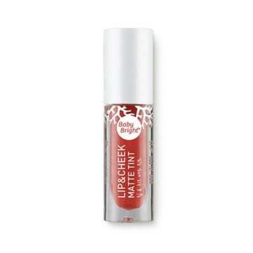 Baby bright - Lip & Cheek Matte Tint#4 Spiced Coral
