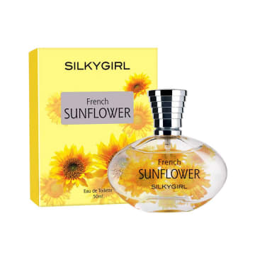 Silkygirl Flowers Collection EDT ( French Sunflower EDT 50ml )