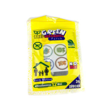 Green Anti-Mosquito Patch 24 pcs