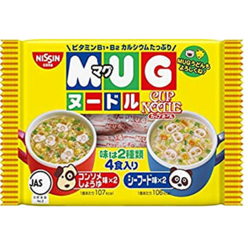 MUG Noodle (Yellow) 1 Year +
