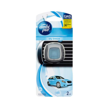 Ambi Pur car Mini Clip Sky Breeze 2ml