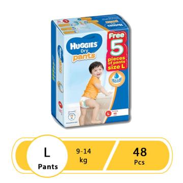 Huggies (Dry Pants Super Jumbo) L 48
