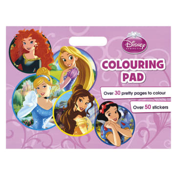 Disney Princess Colouring Pad