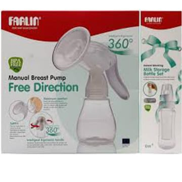 Farlin Free Direction Manual Breast Pump - BF-640B