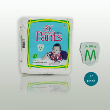 KK baby Diaper Pants  (M 17)