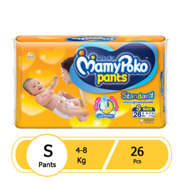 MamyPoko Pants(ECO)- S26 Pcs