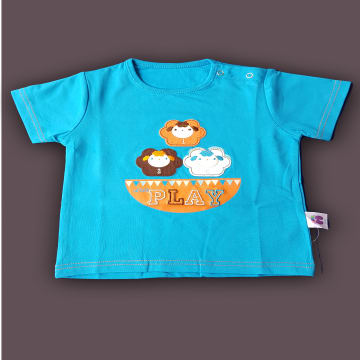 95% Cotton,5% Spandex Smile n Play (T shirt)