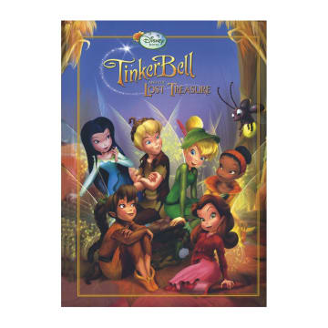 Disney Tinkerbell and the Lost Treasure Hardcover