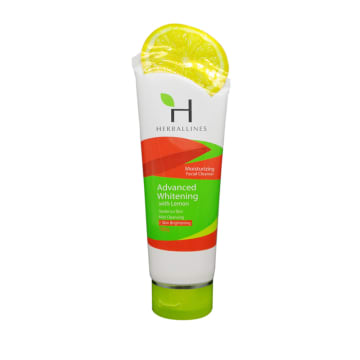 Herballines facial Cleanser with Lemon 180g