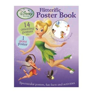 Disney Fairies Flitterific Poster Book (Paperback)
