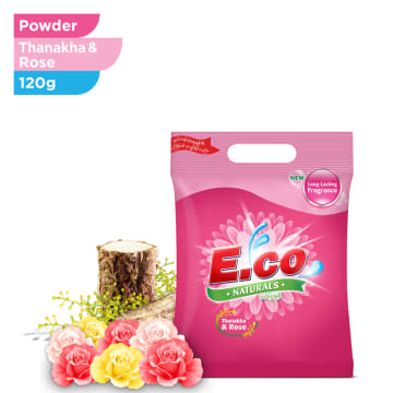 E.CO NATURAL ROSE 120G