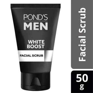 PONDS Men WhiteBoost Ficial Scrub 50g