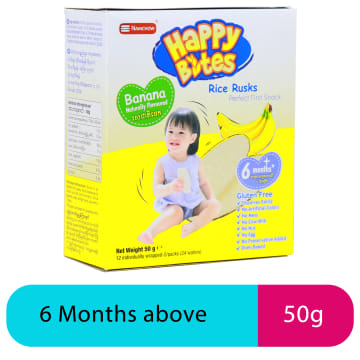 Happy Bites Banana Snaks