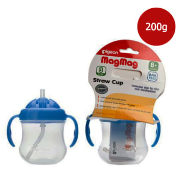 MAG MAG STRAW CUP (SKY BLUE)