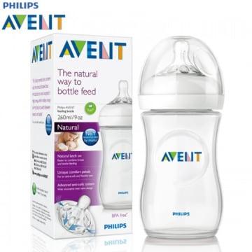 Philips Avent Feeding Bottle 260ml (1m+)