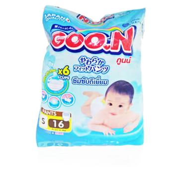 Goo.N Pants - S - (16 Pcs)