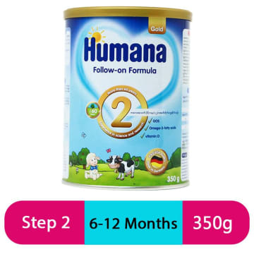 Humana Gold 2 Folow On Fomula (350g/Tin)