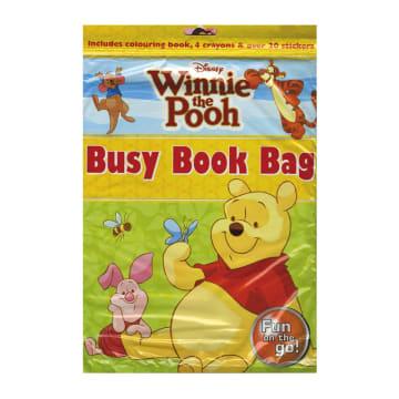 Disney Winnie the Pooh Busy Book Bag