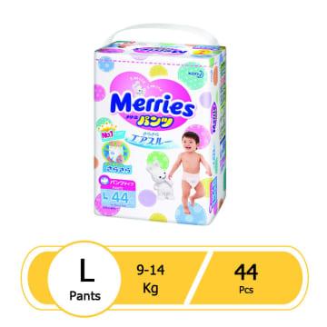Merries Diaper Pant L (44 pcs)