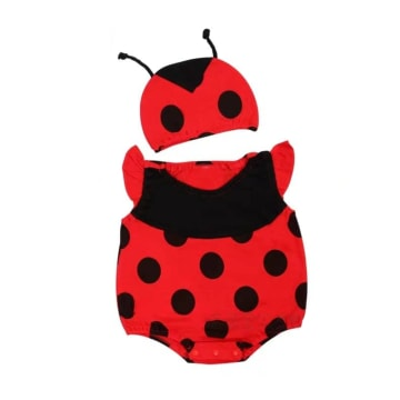 Bug Costume Romper Outfit Set - with hat