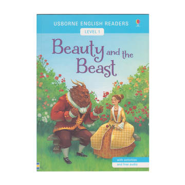 Usborne English Readers L-1 beauty and the beast