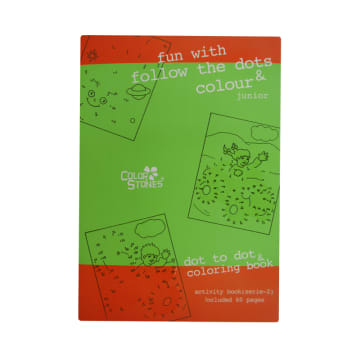 Dot To Dot Coloring Book Series-2 (60 Pages)