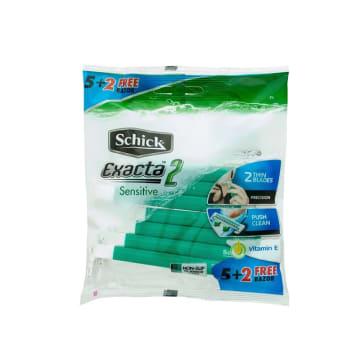 Schick Exacta II 5+2Pcs