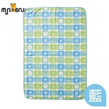 (piyopiyo) Airflow Soft Cotton Blanket (Blue)