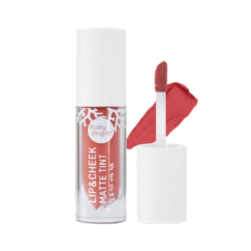 Baby Bright - Lip & Cheek Matte Tint#5 Just Peach