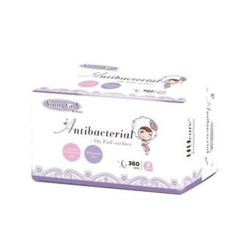 UUcare Young Gir Antibacterial Night 360mm 8s