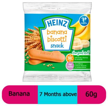 Heinz-Biscotti Banana (7 Months+) 60g