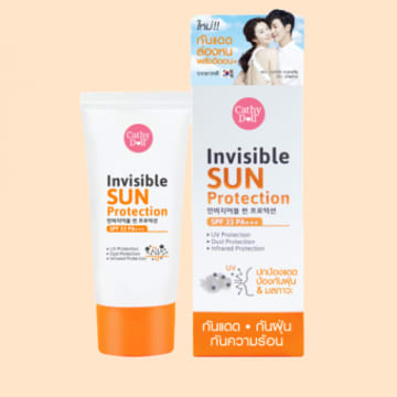 Cathy Doll - Invisible Sun Protection SPF+++20g