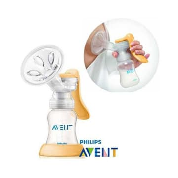 Philips Avent Manual Breast Pump pp (STD NEC) - SCF-900/01