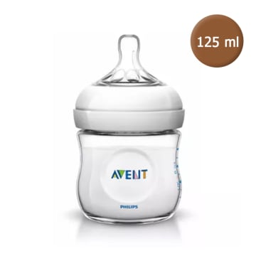 Philips AVENT Natural Newborn Baby Milk Feeding Bottle Anti-Colic 125ml/4oz 0m+ -SCF-690/13