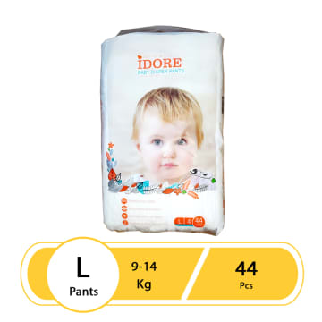 Idore Baby Diaper Pants L(44 Pcs)