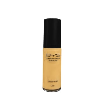 BYS Pump Glass Foundation Liquid (Complete coverage) - 30ml