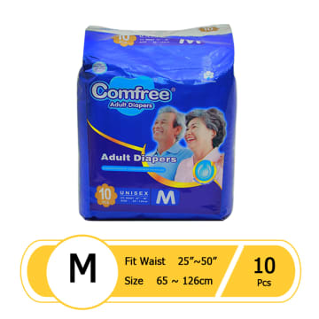 Comfree Adult Diaper M 10pcs