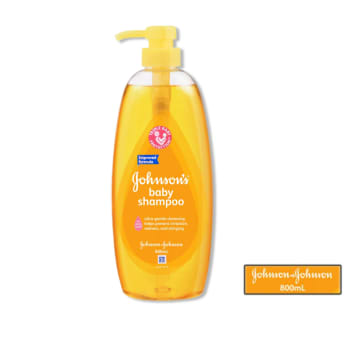 Johnson's baby shampoo gold 800ml
