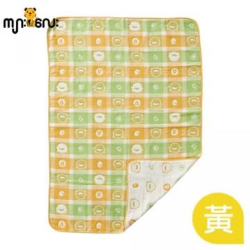 (piyopiyo) Airflow Soft Cotton Blanket (Yellow)