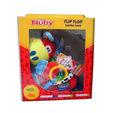 Nuby Flip Flop Teether Book