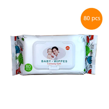 Idore Baby Wipes Cottony soft (80 pcs)