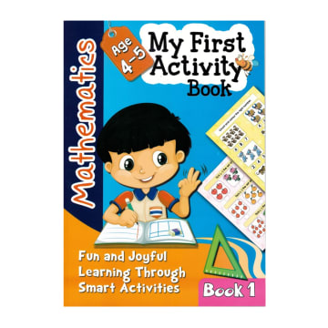 My First Activity Book Mathematics - Book 1