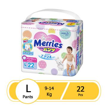 Merries Diaper Pant L ( 22pcs )