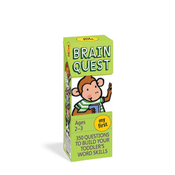 BRAIN QUEST Ages2-3 my first