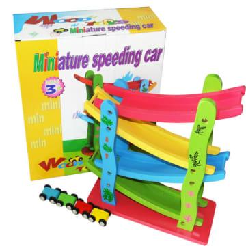 4 Layer Speeding Car
