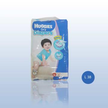 Huggies Dry Diaper Jumbo L - 38