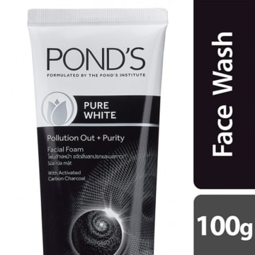 Ponds Pure White Facial Foam 100g