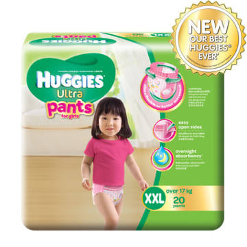 Huggies (Ultra Pants) XXL-20 Girl