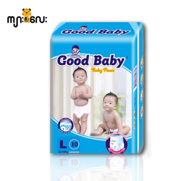 Good Baby (Baby Pants L 10 Pcs/9kg -14 kg)